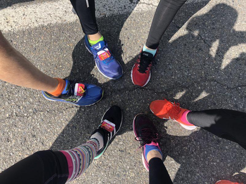 ハーフマラソンで登山の体力づくり。10㎞マラソンはプラスアルファのお楽しみがあります