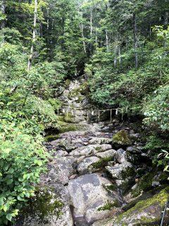 2020年8月,木曽の御嶽山(おんたけさん)へ。火口から1Km以内の立入規制が一部緩和されています