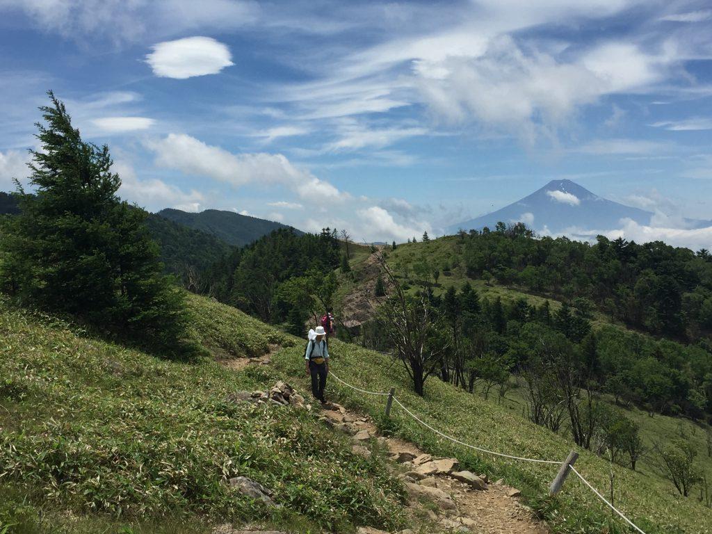 富士山がしっかり見えました