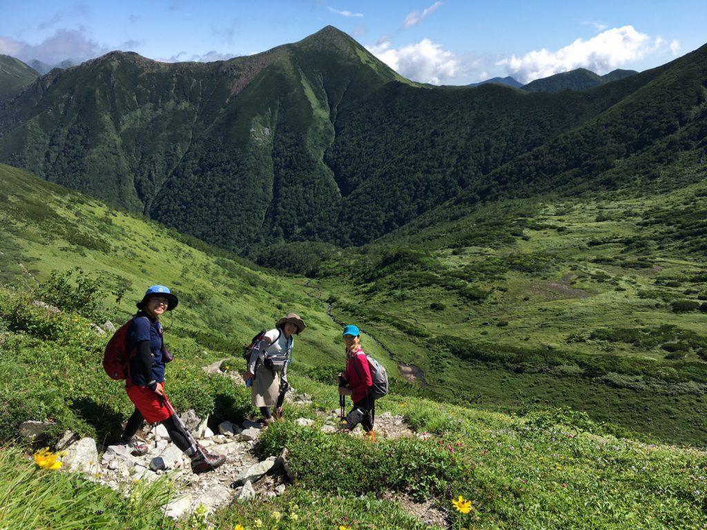 幌尻岳の北カール
